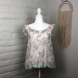 Victoria's Secret sheer floral cami